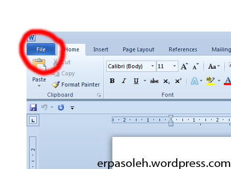 How to recover autosave microsoft word documents