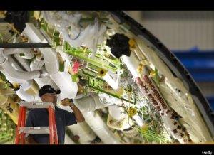 tampak bagian dalam boeing 787